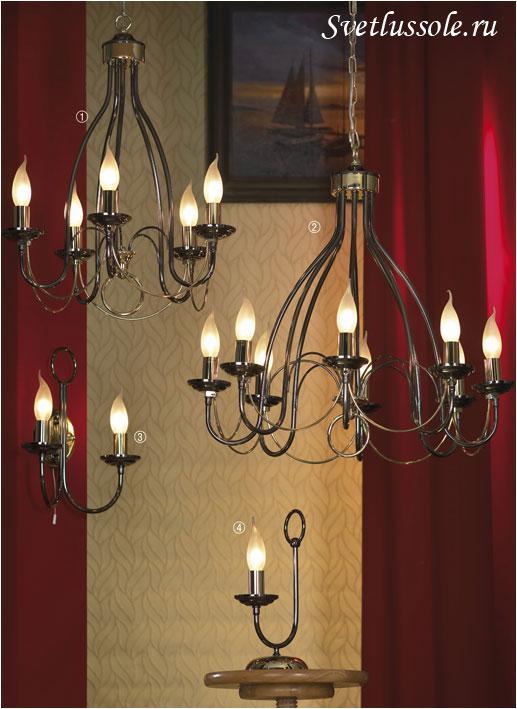 Декоративный светильник Todi LSA-4613-08