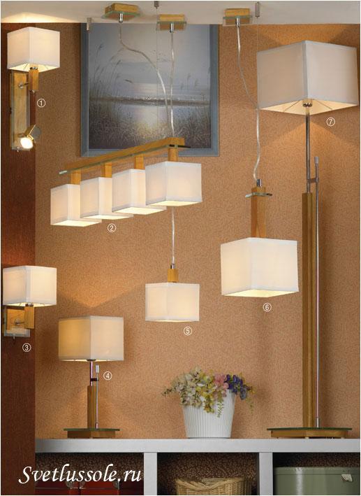 Декоративный светильник Montone LSF-2503-04
