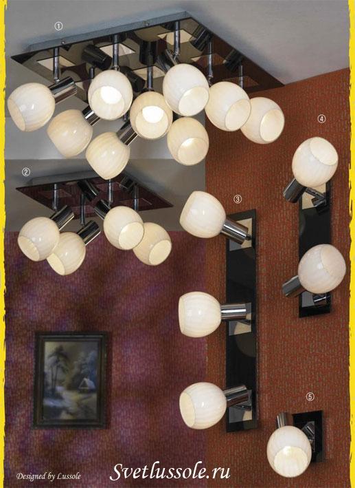 Декоративный светильник Senigallia LSX-5507-09