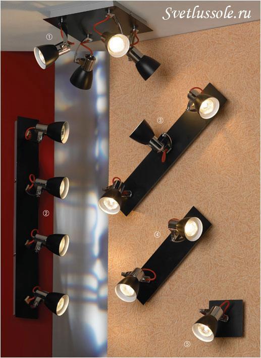 Декоративный светильник Frontino LSL-7401-04