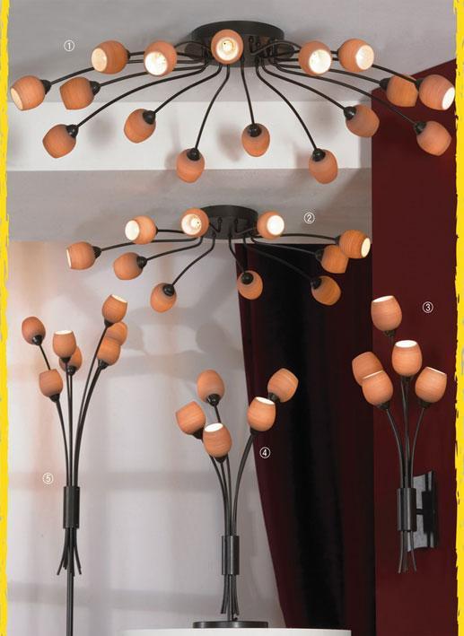 Декоративный светильник Spilimbergo LSA-3007-10