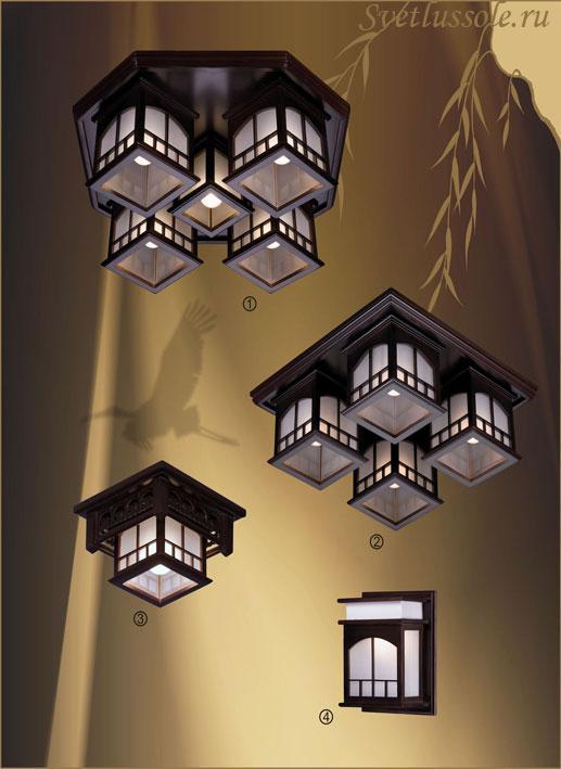 Декоративный светильник 513-727-04 velante