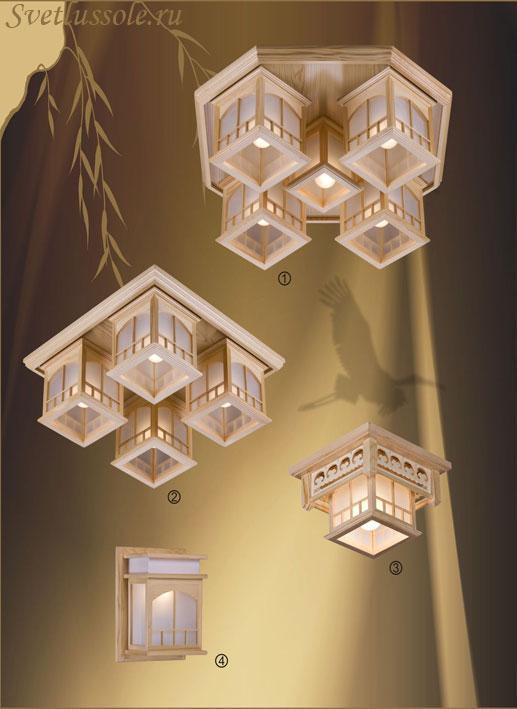 Декоративный светильник 513-717-05 velante