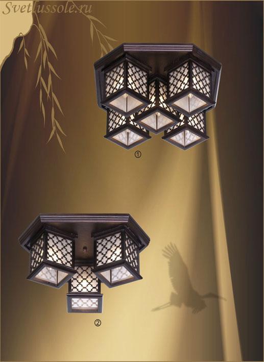 Декоративный светильник 596-727-05 velante