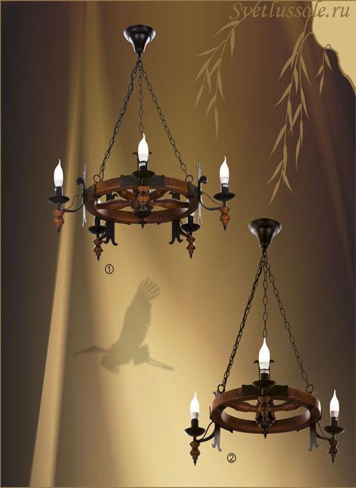 Декоративный светильник 586-703-05 velante
