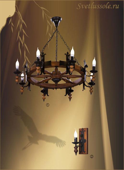Декоративный светильник 586-703-08 velante