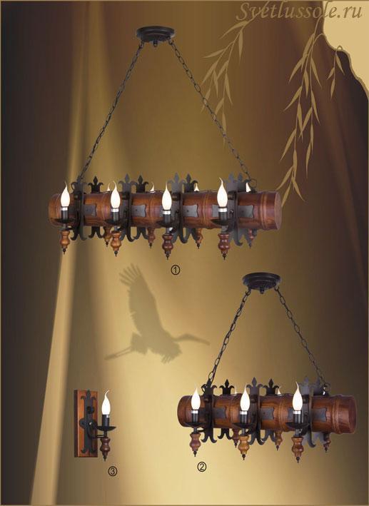 Декоративный светильник 599-703-06 velante