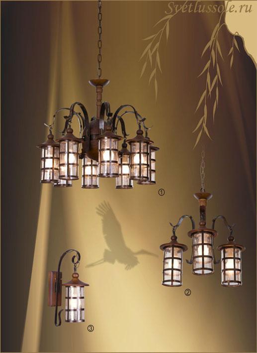Декоративный светильник 588-703-08 velante