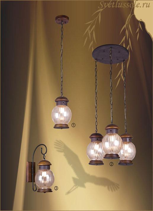 Декоративный светильник 587-706-03 velante