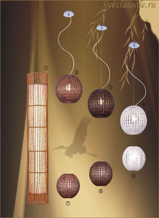 Декоративный светильник 301-706-01 velante