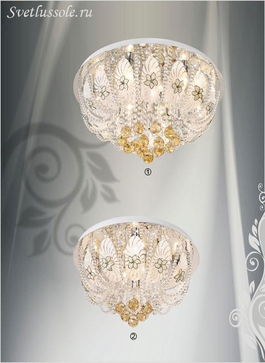 Декоративный светильник 743-107-09 velante