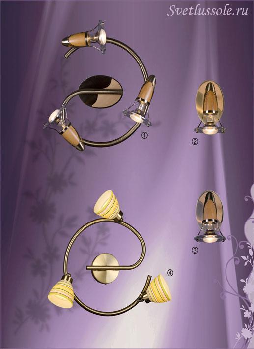 Декоративный светильник 316-507-03 velante