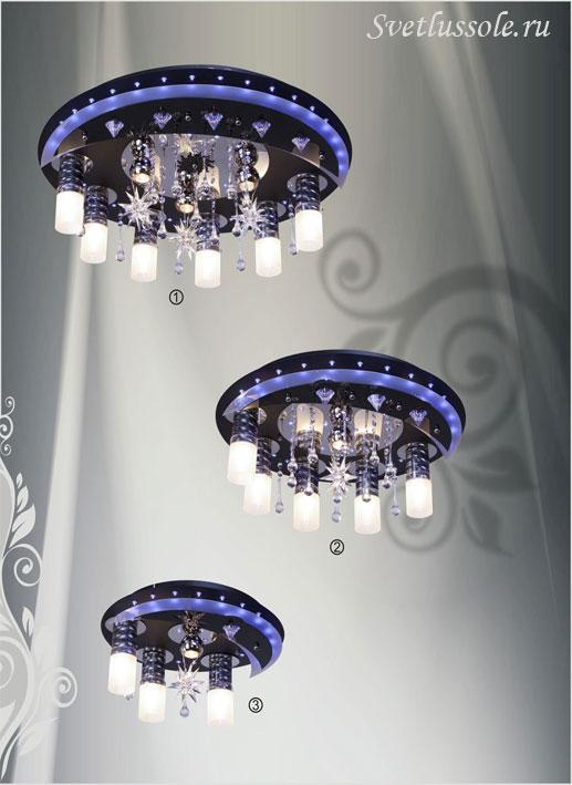 Декоративный светильник 170-207-09 velante