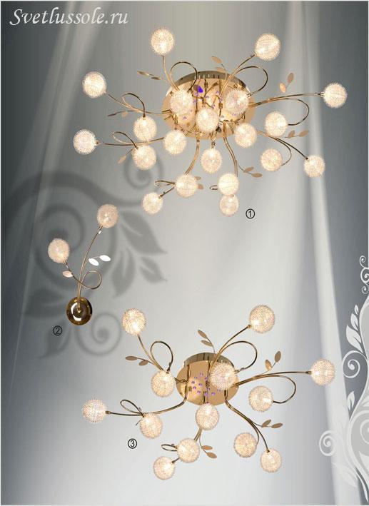 Декоративный светильник 155-307-13 velante