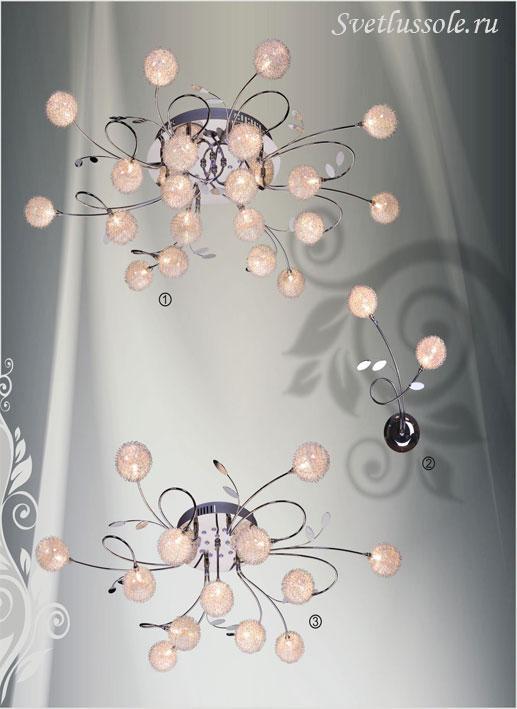 Декоративный светильник 155-107-13 velante