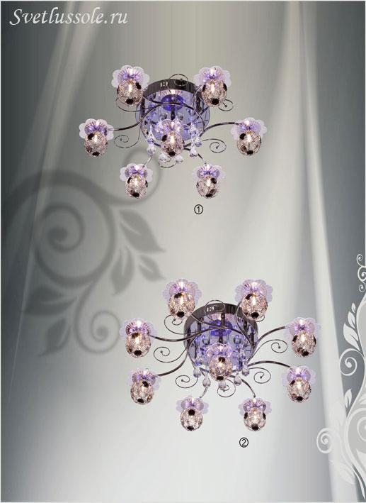 Декоративный светильник 158-107-09 velante