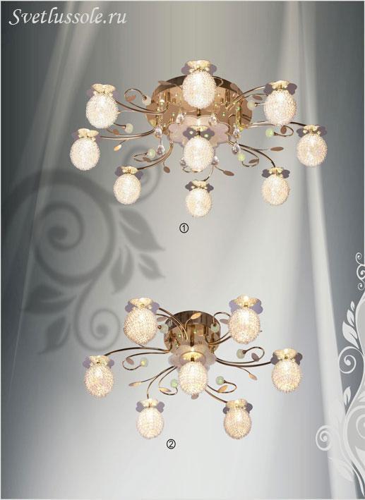 Декоративный светильник 159-307-07 velante