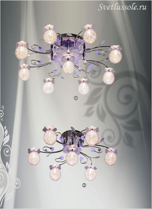 Декоративный светильник 159-107-09 velante