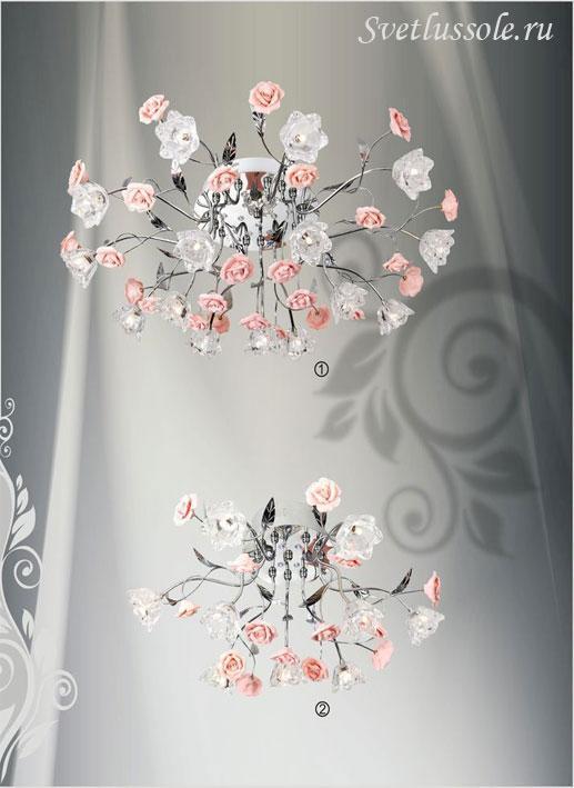 Декоративный светильник 136-107-15 velante