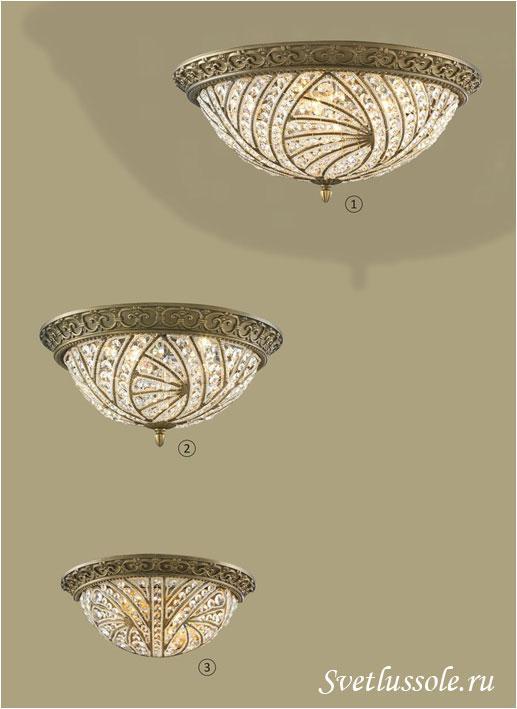 Декоративный светильник WE311.06.607_wertmark