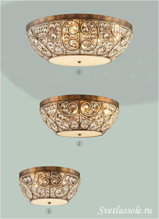 Декоративный светильник WE315.08.507_wertmark