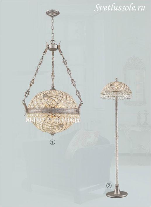 Декоративный светильник WE317.08.203_wertmark