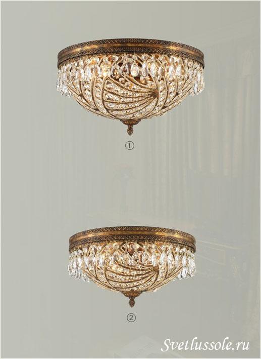 Декоративный светильник WE317.06.507_wertmark