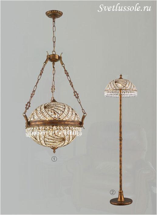 Декоративный светильник WE317.08.503_wertmark