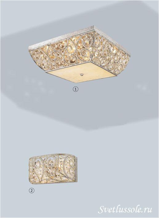 Декоративный светильник WE316.08.207_wertmark