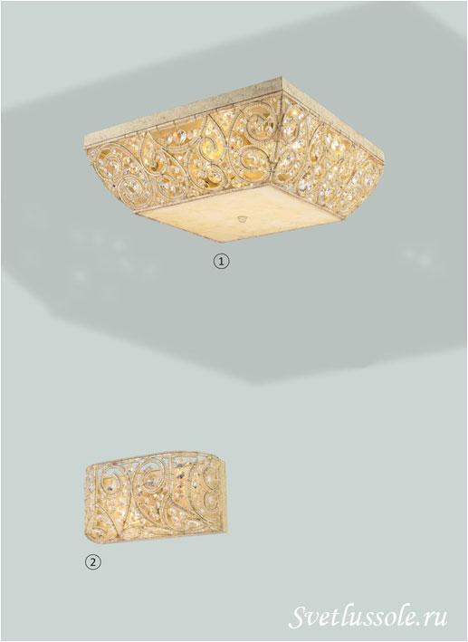 Декоративный светильник WE316.08.007_wertmark