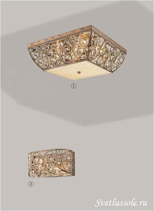 Декоративный светильник WE316.08.507_wertmark
