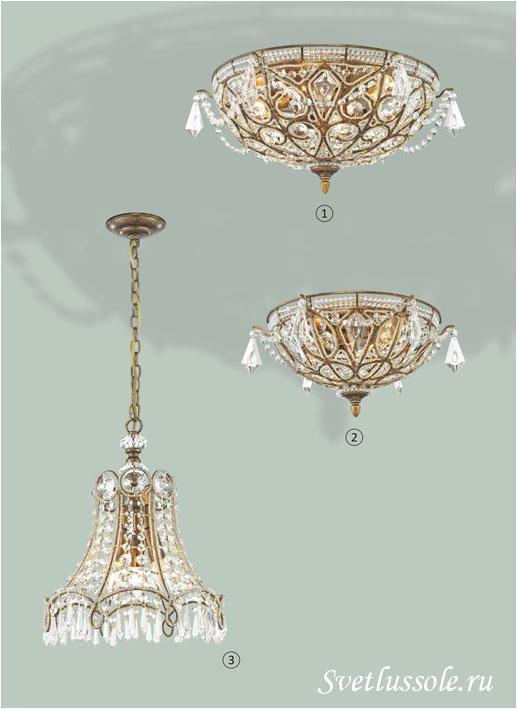 Декоративный светильник WE324.06.507_wertmark
