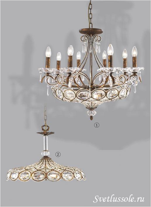 Декоративный светильник WE310.14.503_wertmark