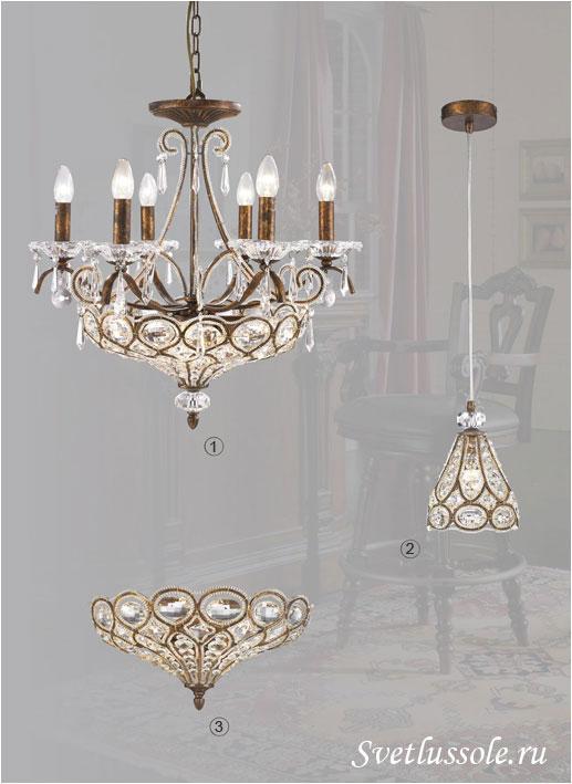 Декоративный светильник WE310.10.503_wertmark