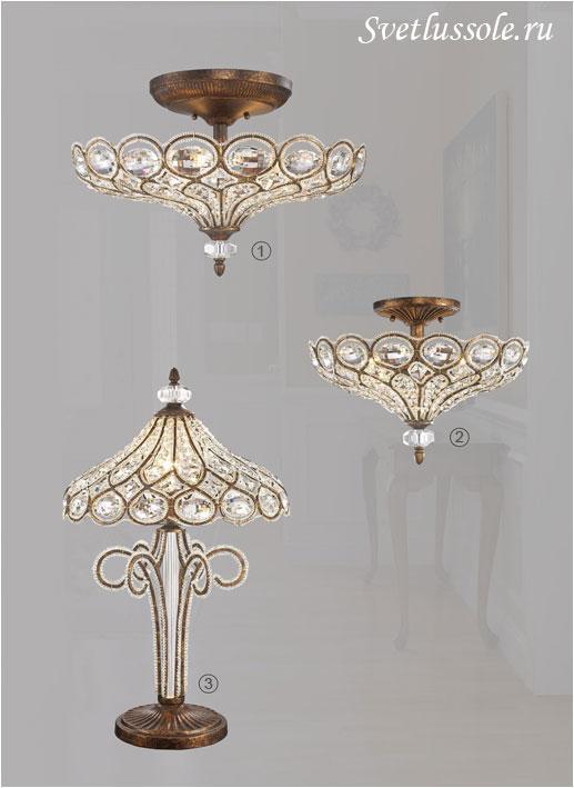 Декоративный светильник WE310.06.507_wertmark