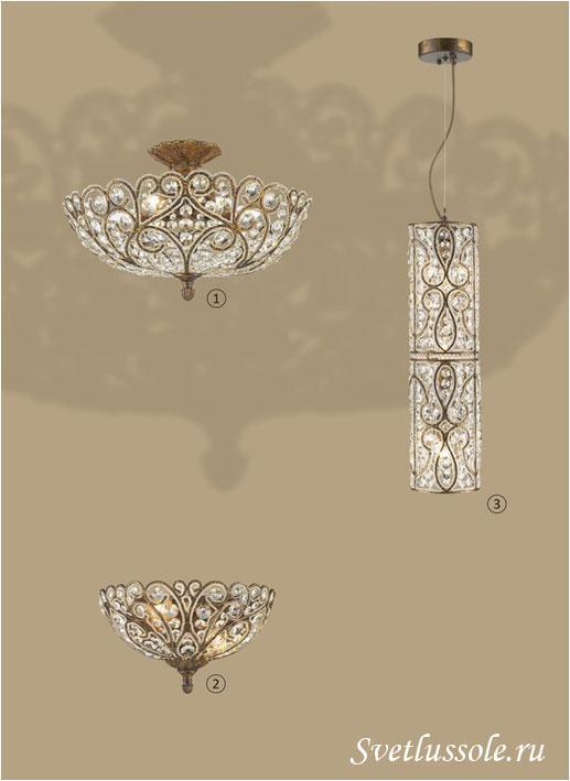Декоративный светильник WE318.06.507_wertmark