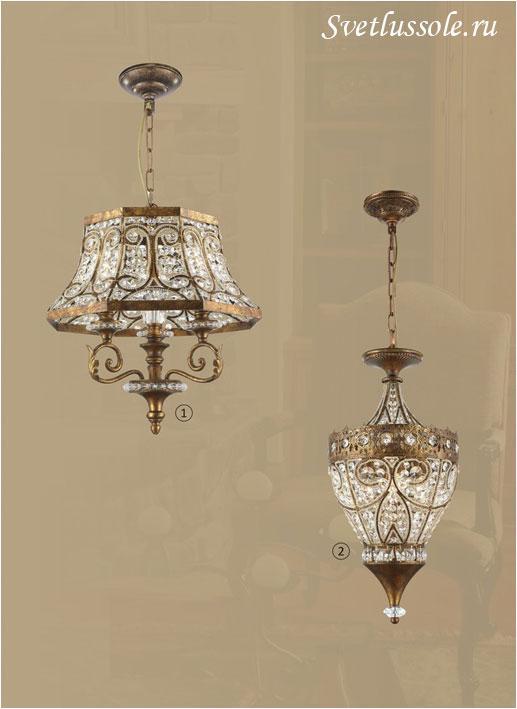 Декоративный светильник WE332.03.503_wertmark