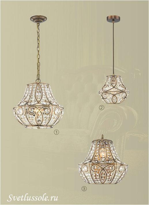 Декоративный светильник WE323.04.503_wertmark