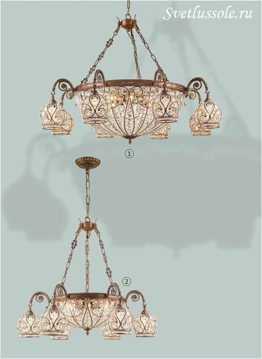Декоративный светильник WE322.16.503_wertmark