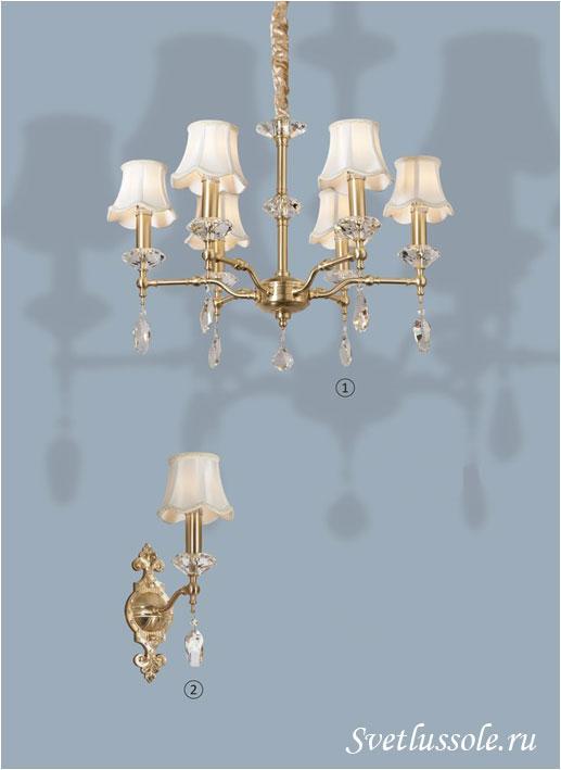 Декоративный светильник WE348.06.403_wertmark