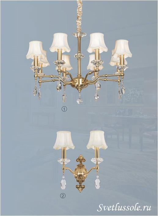 Декоративный светильник WE348.08.403_wertmark