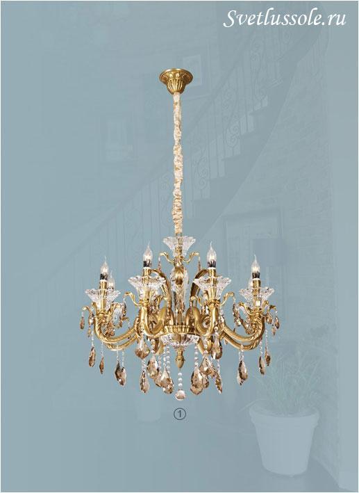 Декоративный светильник WE350.08.503_wertmark