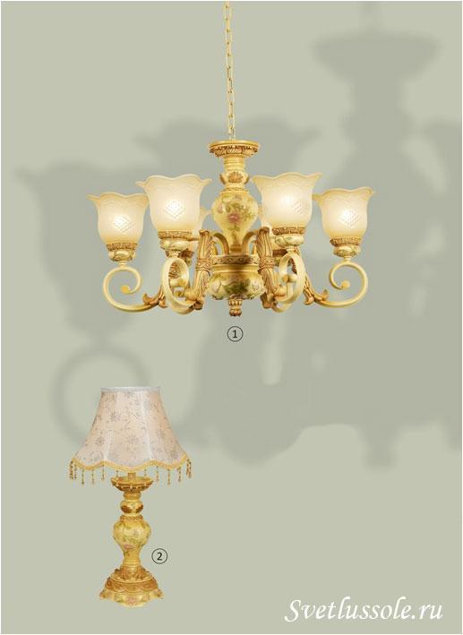 Декоративный светильник WE358.06.003_wertmark