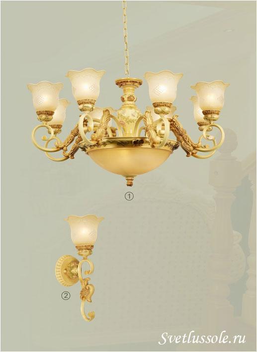 Декоративный светильник WE358.11.003_wertmark