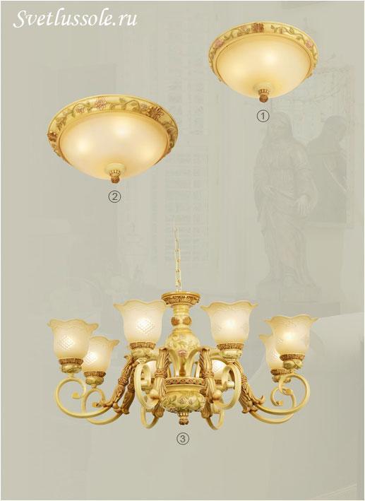 Декоративный светильник WE358.08.003_wertmark