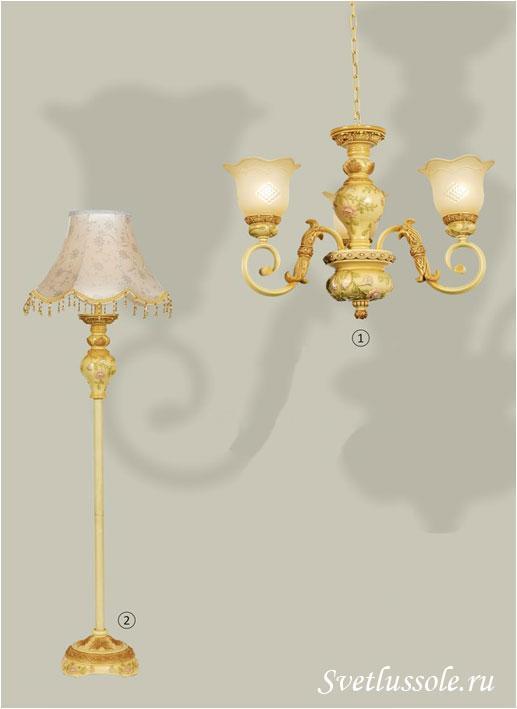 Декоративный светильник WE358.01.005_wertmark
