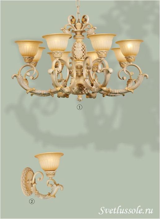Декоративный светильник WE357.08.003_wertmark