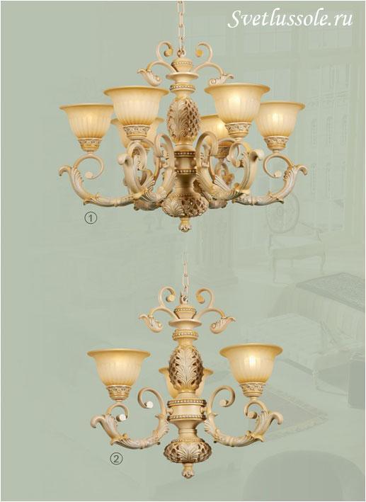 Декоративный светильник WE357.06.003_wertmark