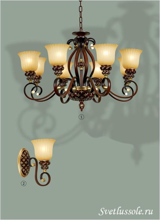 Декоративный светильник WE354.08.603_wertmark