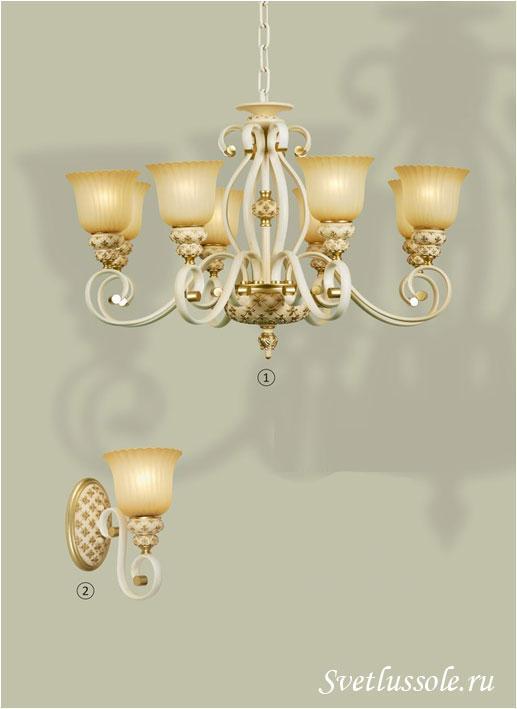 Декоративный светильник WE354.08.003_wertmark